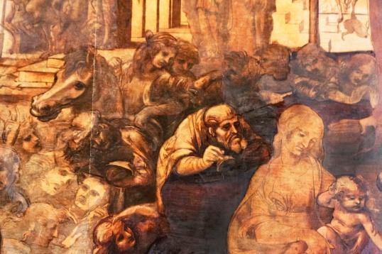 Adorazione dei Magi Leonardo restaurata